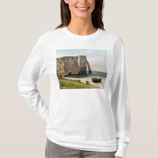 The Cliffs at Etretat, 1869 T-Shirt