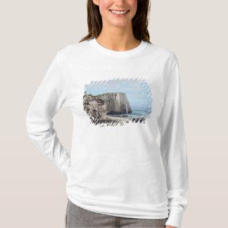 The Cliffs at Etretat after the storm, 1870 T-Shirt