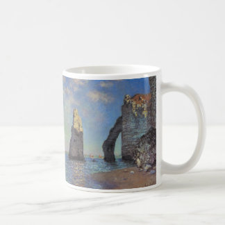 The Cliffs at Etretat Classic White Coffee Mug