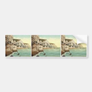 The Cliffs, Dover, England classic Photochrom Bumper Sticker