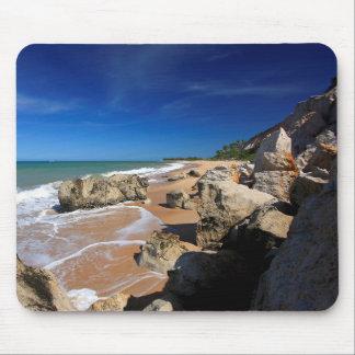 The Cliffs In Rio Da Barra Beach Mouse Pad