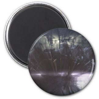the cliffs of insanity at the mountains of madness 2 inch round magnet