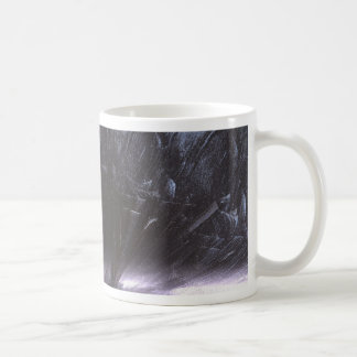 the cliffs of insanity at the mountains of madness classic white coffee mug