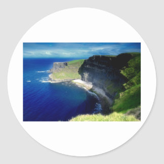 The Cliffs of Moher Classic Round Sticker