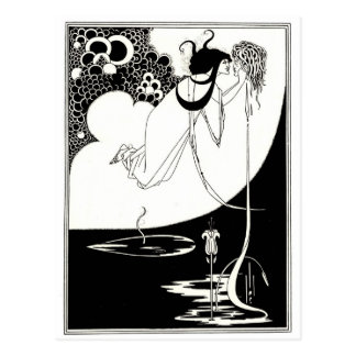 The Climax - French Art Nouveau Postcard