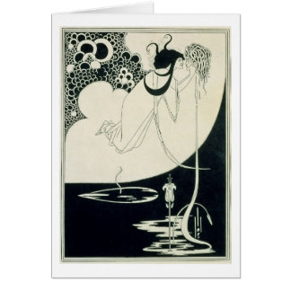 The Climax, illustration from 'Salome' by Oscar Wi Card