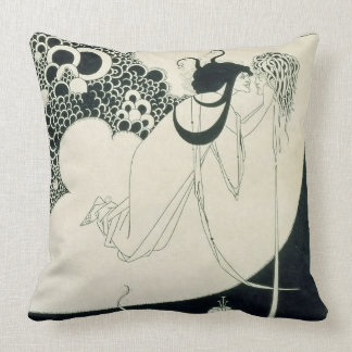 The Climax, illustration from 'Salome' by Oscar Wi Throw Pillow