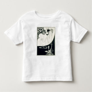 The Climax, illustration from 'Salome' by Oscar Wi Toddler T-shirt