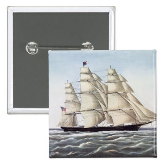 "The Clipper Ship ""Flying Cloud"" Pin"