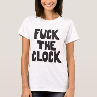 The Clock As Worn By Patti Smith Premium Cotton fa T-Shirt