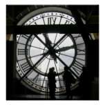 The Clock at Musee d'Orsay Poster
