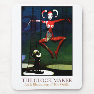 The Clock Maker Mouse Pad