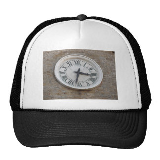 The clock on the facade of the Palazzo dei Priori Trucker Hat