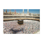 The Clock Tower shadows the Hujaj Stretched Canvas Prints