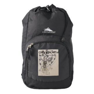 The clockwork ARTist High Sierra Backpack