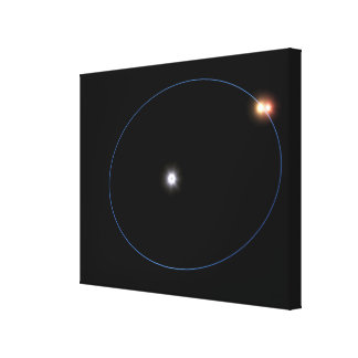 The clockwork-like orbits of a triple-star syst canvas print