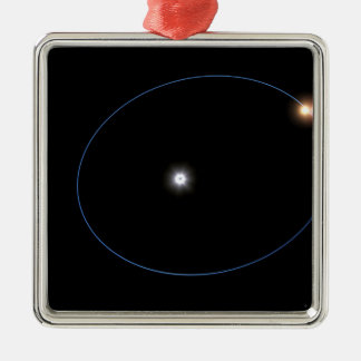 The clockwork-like orbits of a triple-star syst christmas tree ornament