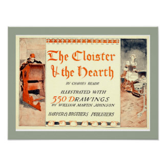 The Cloister and the Hearth Book Cover Poster