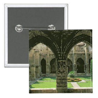 The Cloister Garden 2 Inch Square Button