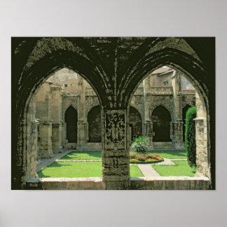 The Cloister Garden Poster