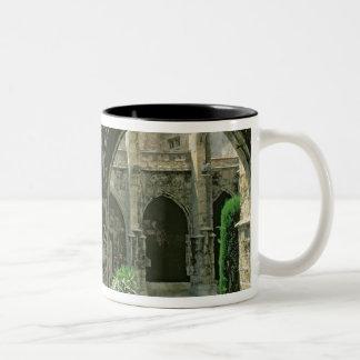 The Cloister Garden Two-Tone Coffee Mug