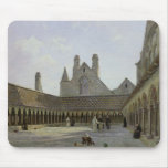 The Cloister of Mont Saint-Michel Mouse Pad