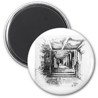 The Cloisters 2 Inch Round Magnet