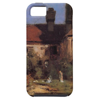 The Cloisters by William Merritt Chase iPhone SE/5/5s Case