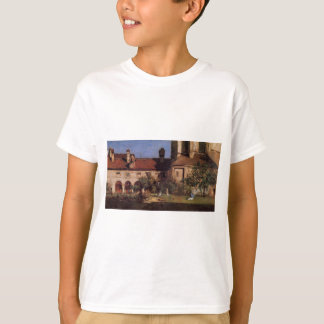 The Cloisters by William Merritt Chase T-Shirt
