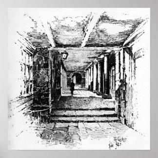 The Cloisters Canvas Print