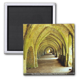 The Cloisters, Fountains Abbey, North Yorkshire, U Refrigerator Magnets