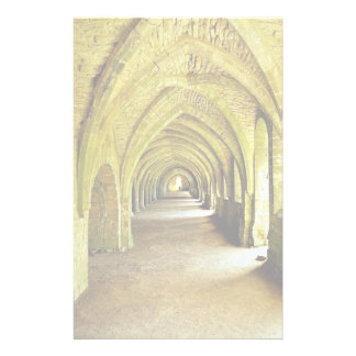 The Cloisters, Fountains Abbey, North Yorkshire, U Stationery Paper