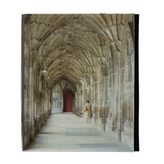 The Cloisters of Gloucester Cathedral, 12th centur iPad Case