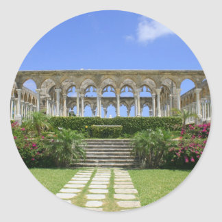 The Cloisters, Paradise Island, Bahamas Classic Round Sticker
