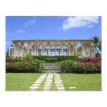"The Cloisters, Paradise Island, Bahamas 4.25"" X 5.5"" Invitation Card"