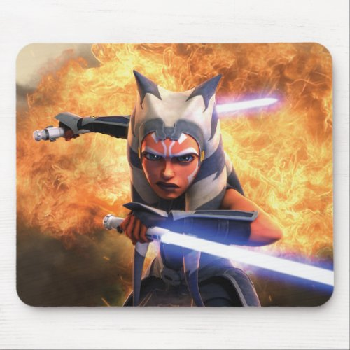 The Clone Wars  Ahsoka Tano Mouse Pad