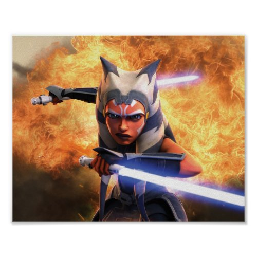 The Clone Wars  Ahsoka Tano Poster