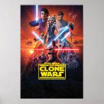 """The Clone Wars Poster Art<br><div class=""""desc"""">Star Wars: The Clone Wars   This graphic features the Clone Wars poster art.</div>"""