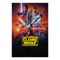 The Clone Wars Poster Art