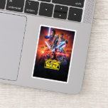 The Clone Wars Poster Art Sticker