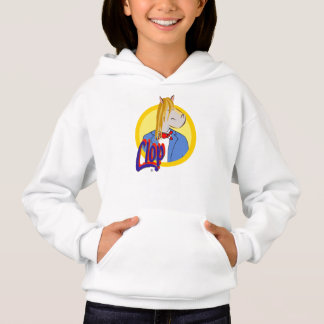 The Clop hoodie for girl. Wow!