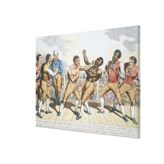 The Close of the Battle or the Champion Triumphant Gallery Wrap Canvas