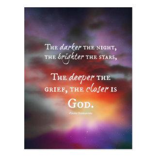 The Closer to God design Postcard