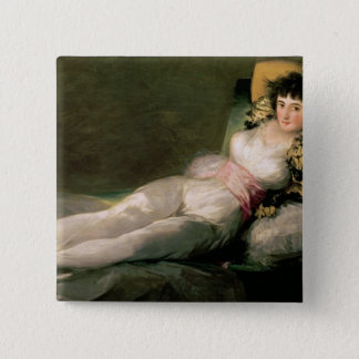 The Clothed Maja, c.1800 Button