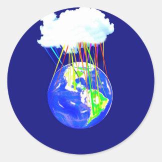 The Cloud.jpg Classic Round Sticker