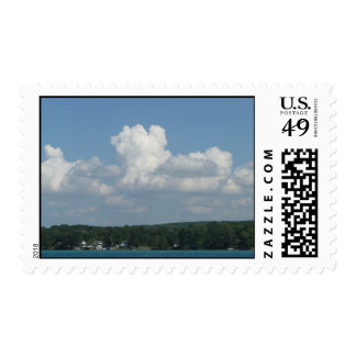 The Clouds Above the Shore Stamp