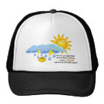 The clouds will pass mesh hats