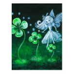 The Clover Faerie Of April Postcard