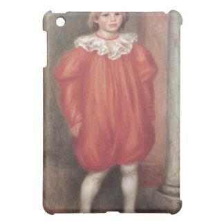 The clown by Pierre Renoir iPad Mini Covers