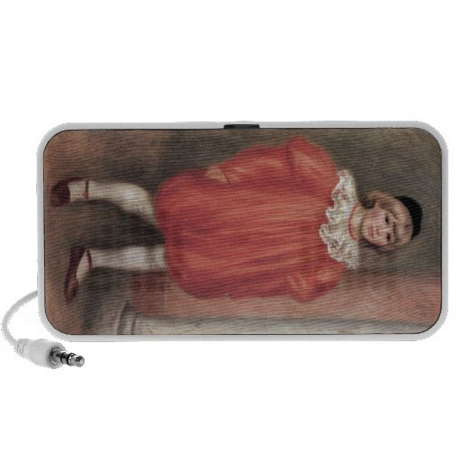 The clown by Pierre Renoir iPod Speaker
